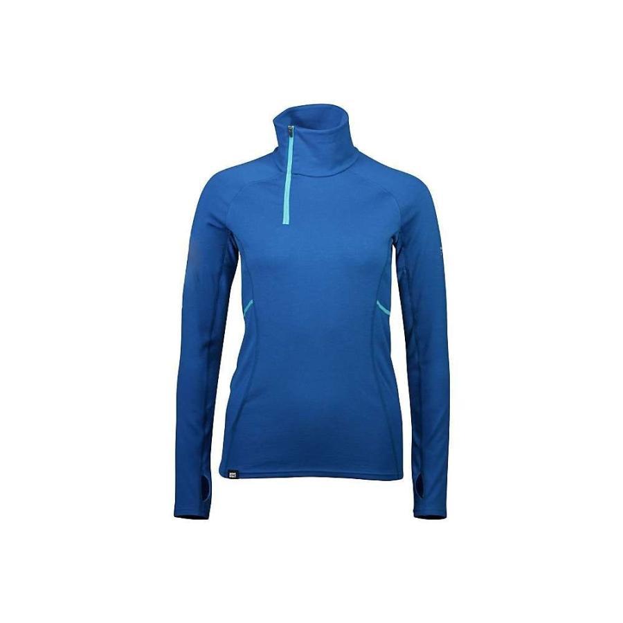 開店祝い モンスロイヤル Mons Royale レディース フィットネス・トレーニング トップス Olympus Half Zip Top Oily Blue, こだわり文房具のアーティクル 8c9f18da