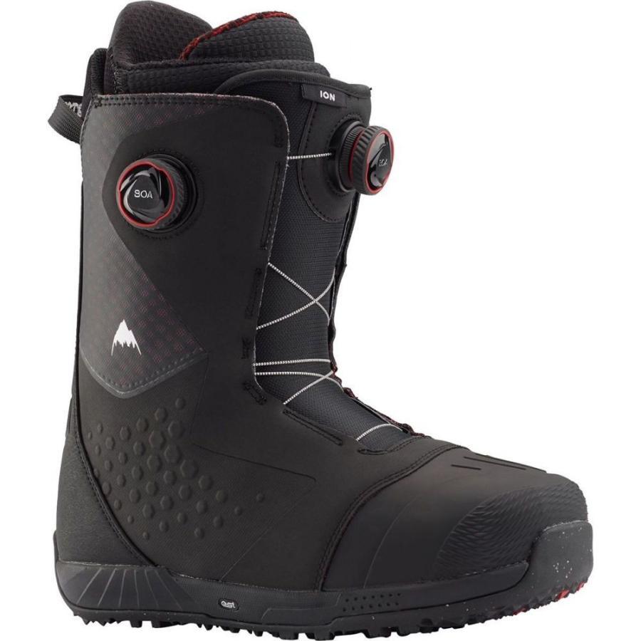 【GINGER掲載商品】 バートン Burton メンズ スキー・スノーボード ブーツ シューズ・靴 Ion Boa Snowboard Boot Black/Red, パソコンレンタルマン 4920739d