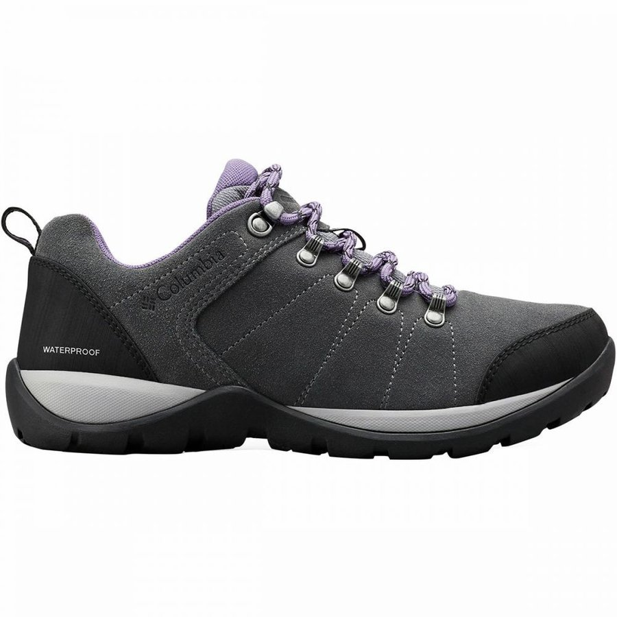 コロンビア Columbia レディース ハイキング・登山 シューズ・靴 fire venture s ii wp hiking shoe Titanium Mhw/Plum Purple