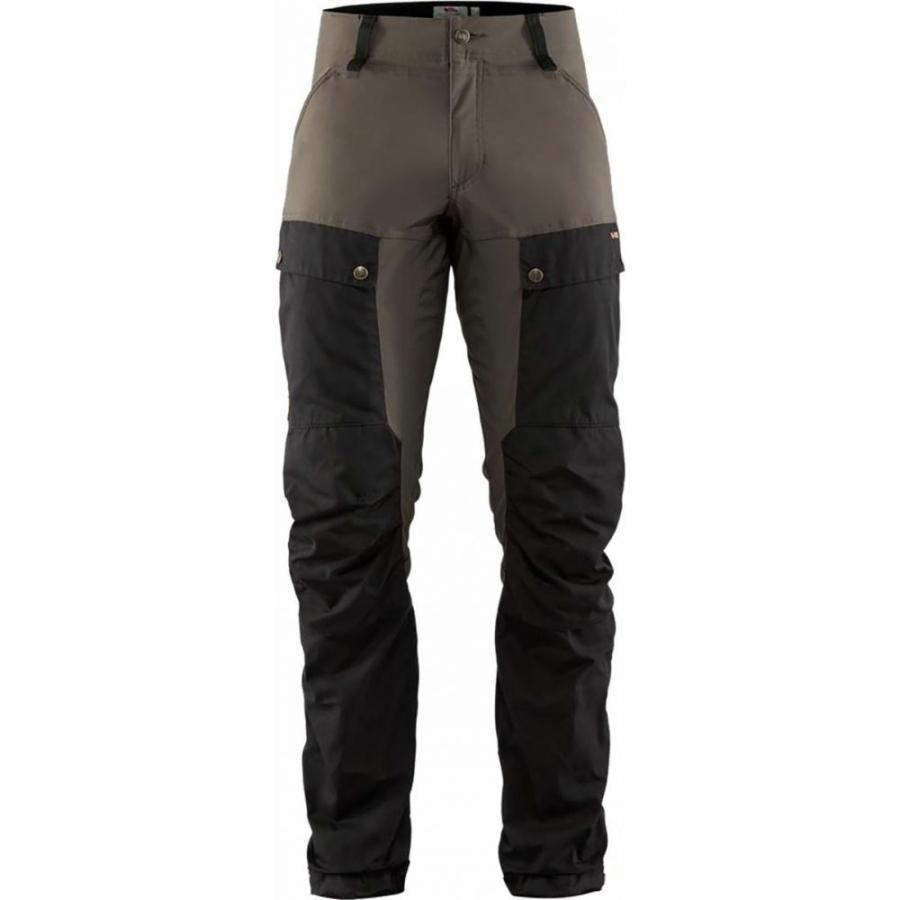 フェールラーベン Fjallraven メンズ ボトムス・パンツ ハイキング・登山 Keb Trouser - Longs Black/Stone Grey