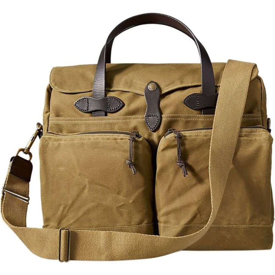 宅配 フィルソン Filson 24 レディース バッグ 24 - Hour バッグ Tin - Briefcase Dark Tan, select shop crea:81015b25 --- sonpurmela.online