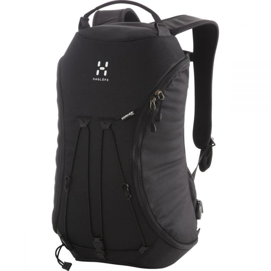 ホグロフス Haglofs メンズ バックパック・リュック バッグ Corker Medium 18L Backpack True 黒/True 黒