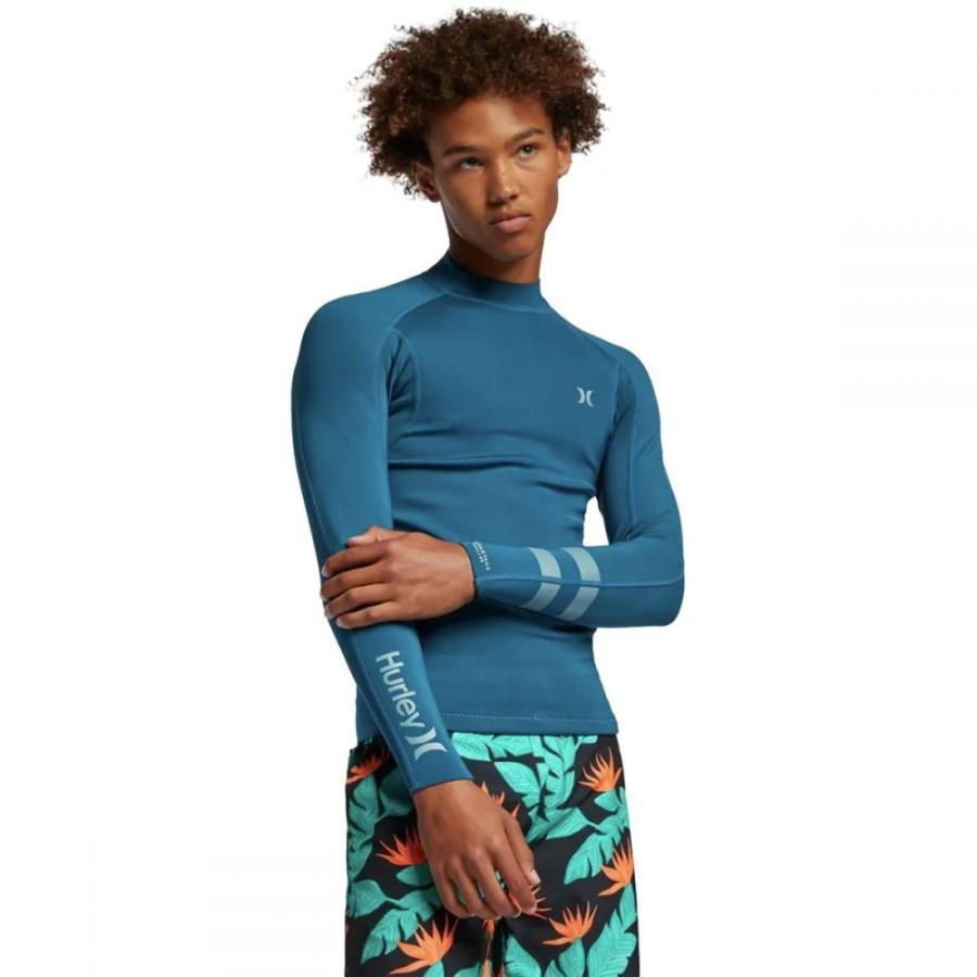 【ネット限定】 ハーレー Hurley メンズ ラッシュガード ジャケット 水着・ビーチウェア Advantage Plus 1/1 Jacket Blue Force, paliocollection ee6ff3be