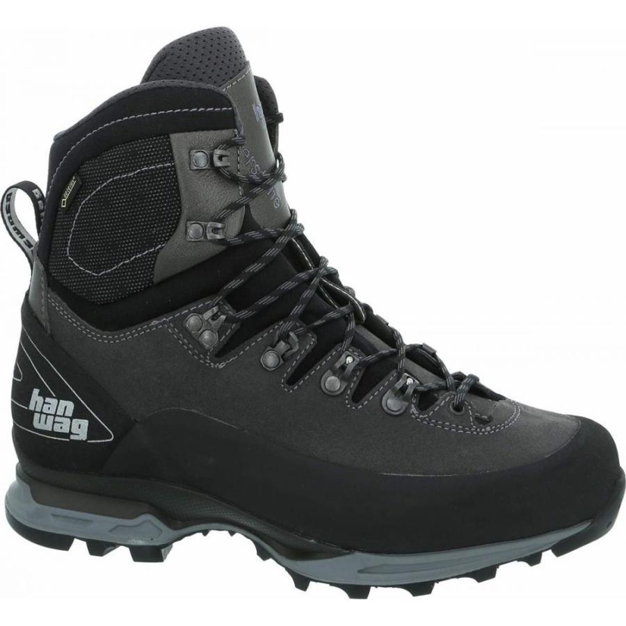 ハンワグ Hanwag メンズ シューズ・靴 ハイキング・登山 Alverstone II GTX Backpacking Boots Asphalt/Light Grey