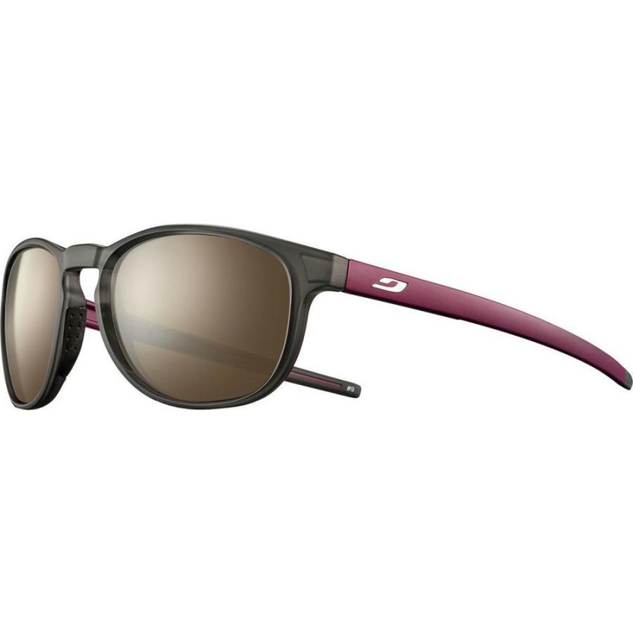 ジュルボ Julbo レディース スポーツサングラス Elevate Spectron 3 Sunglasses Transluscent 黒/Bordeaux