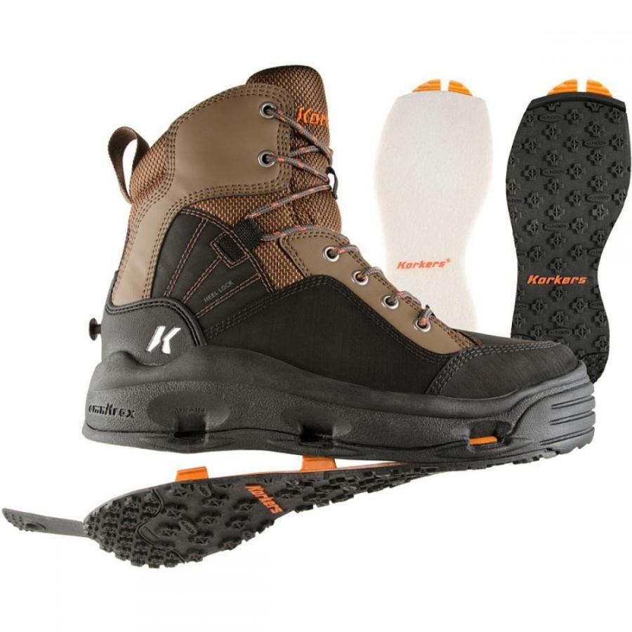 コーカーズ メンズ シューズ・靴 釣り・フィッシング Buckskin Wading Boots Kling-On/Felt Soles