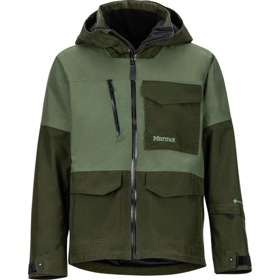 マーモット Marmot メンズ スキー・スノーボード ジャケット アウター Carson Jacket Crocodile/Rosin Green