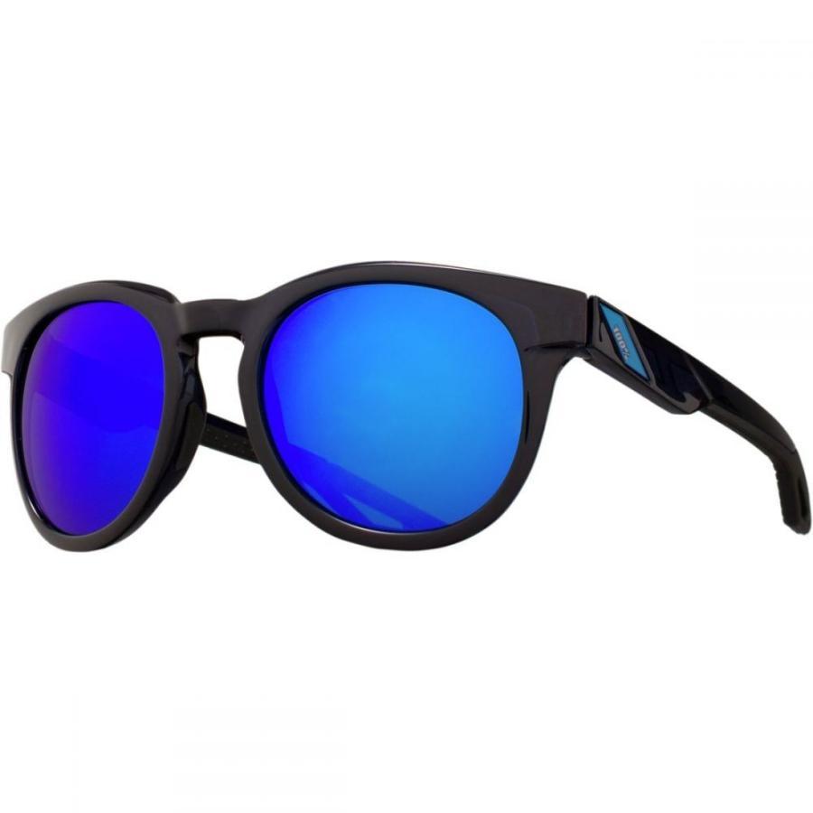 ヒャクパーセント レディース スポーツサングラス Campo Sunglasses Polished Transluscent 青 W/ Electric 青 Mirror Lens