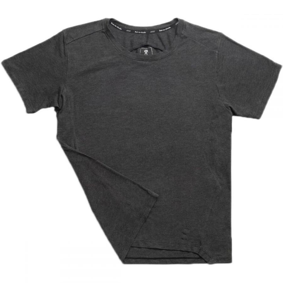 【爆売り!】 オン ON Running メンズ ランニング・ウォーキング ショートパンツ トップス Active Short - Sleeve T - Shirt Black, アキタシ 65f54019