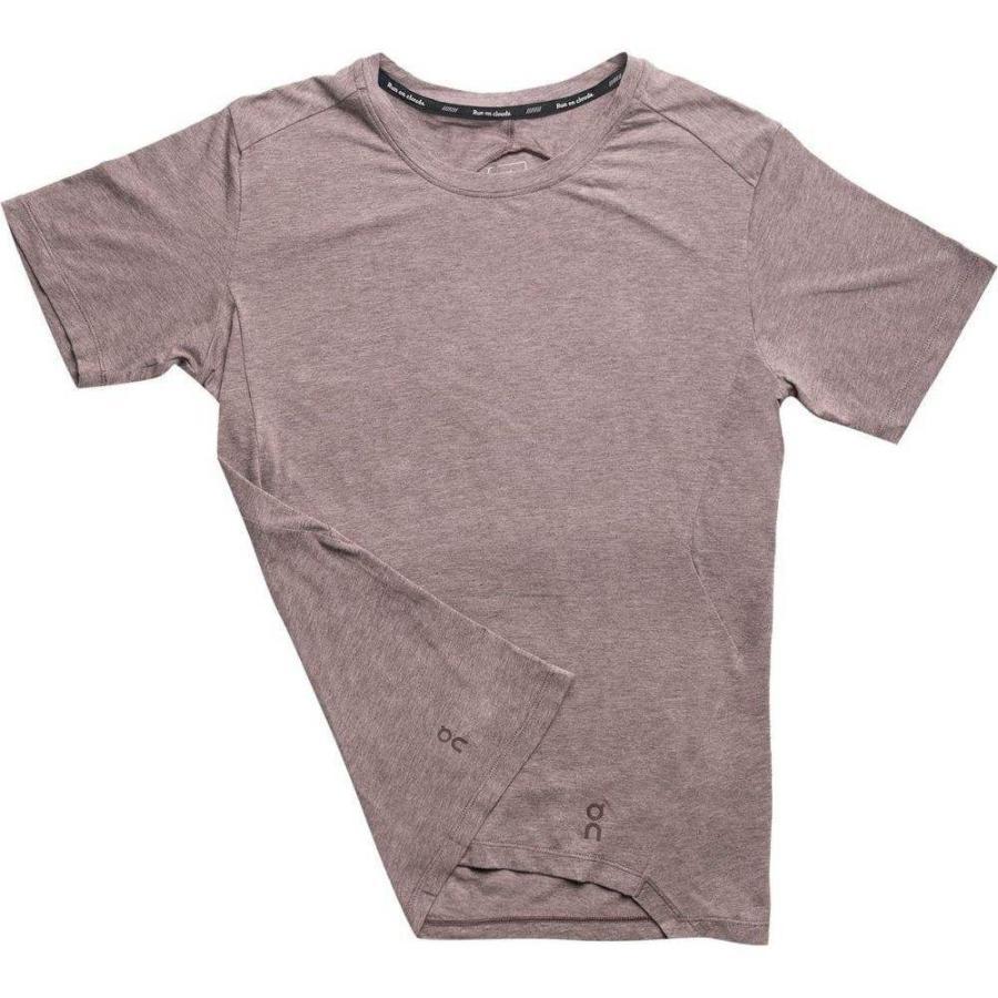 熱販売 オン ON Running メンズ ランニング・ウォーキング ショートパンツ トップス Active Short - Sleeve T - Shirt Grape, 日本茶専門店 てらさわ茶舗 26a5fc76
