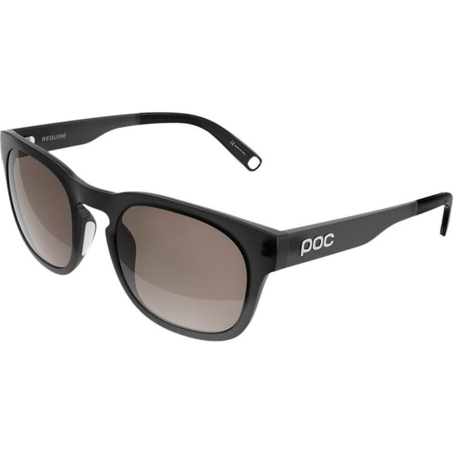 ピーオーシー POC レディース スポーツサングラス require sunglasses Uranium 黒 Translucent/Cold 褐色/銀 Mirror Clarity