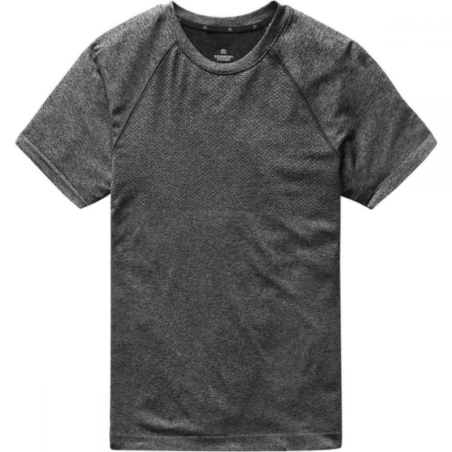 【予約】 レイニングチャンプ Reigning Champ メンズ フィットネス・トレーニング トップス training short - sleeve t - shirt Heather Charcoal, 神奈川県小田原市 a73a7186