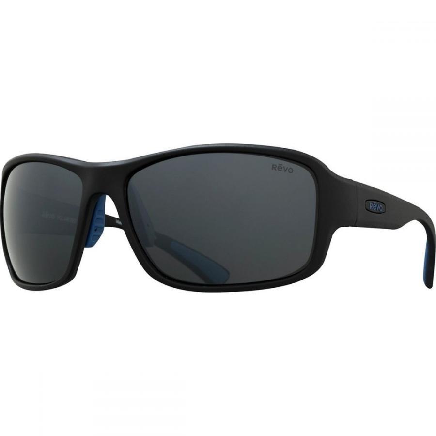 レヴォ Revo レディース スポーツサングラス Border Polarized Sunglasses Matte 黒/Graphite