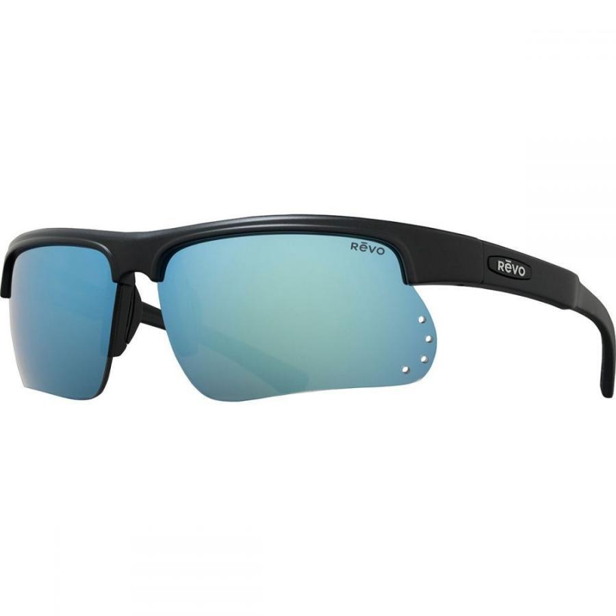 レヴォ Revo レディース スポーツサングラス Cusp S Polarized Sunglasses Matte 黒/青 Water