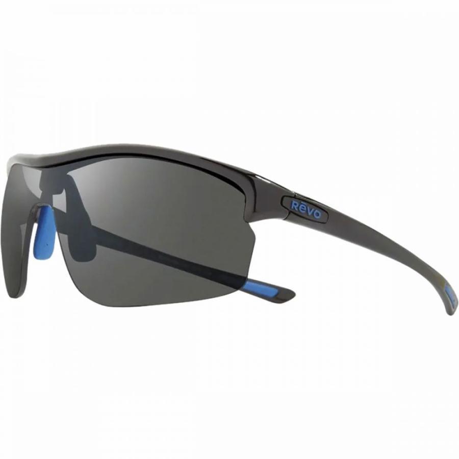 レヴォ Revo レディース スポーツサングラス Edge Polarized Sunglasses 黒/Graphite