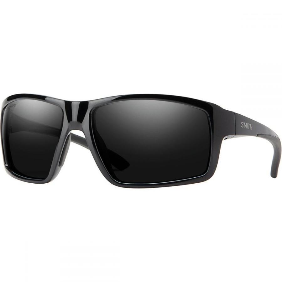 スミス Smith レディース スポーツサングラス Hookshot Chromapop Polarized Sunglasses 黒-Chromapop Polarized 黒