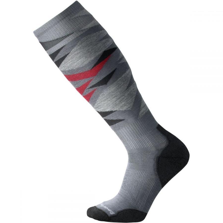 スマートウール Smartwool レディース スキー・スノーボード ソックス phd ski light pattern sock Graphite