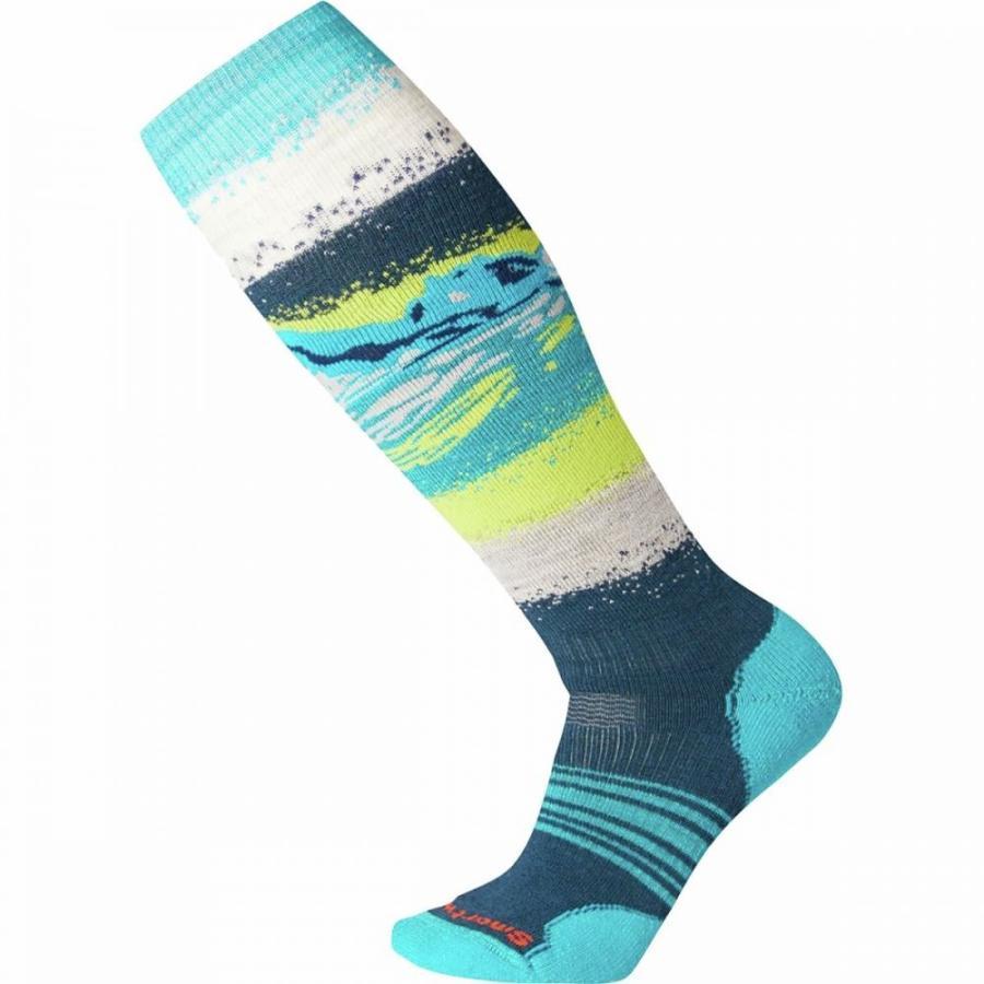 スマートウール Smartwool レディース スキー・スノーボード ソックス phd snow medium sock Deep Marlin