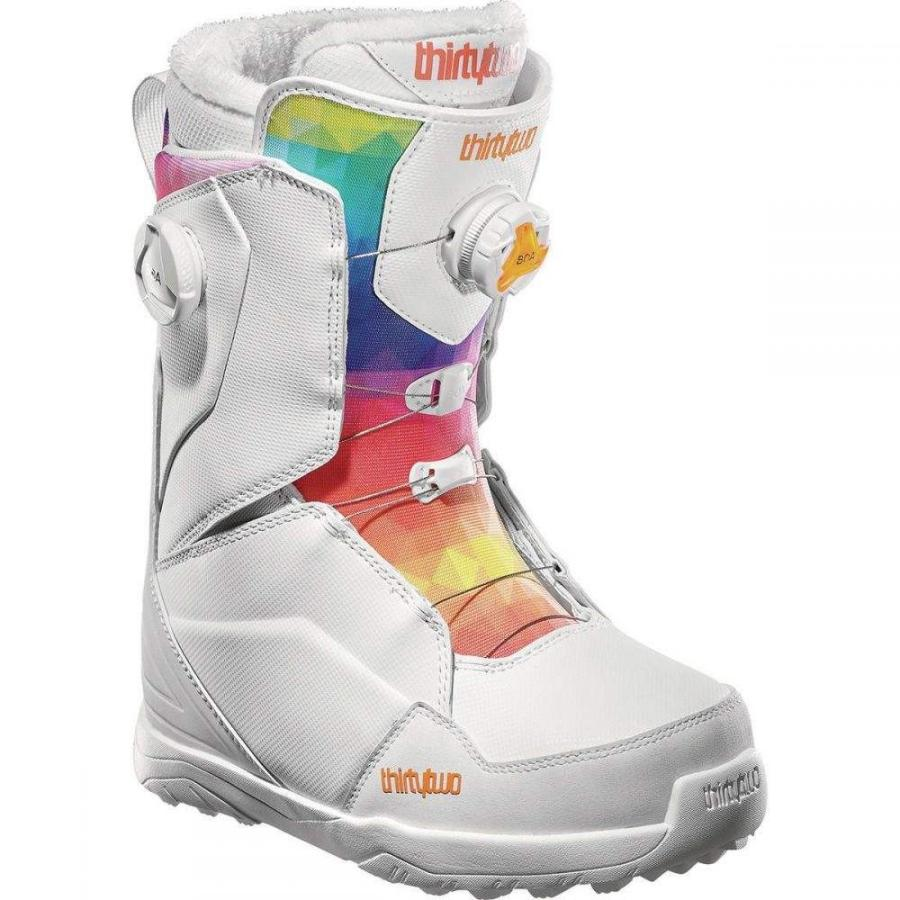 【おしゃれ】 サーティーツー ThirtyTwo レディース スキー・スノーボード ブーツ シューズ・靴 Lashed Double BOA Snowboard Boot White, 信州発 そばぶるまい 87de8c40