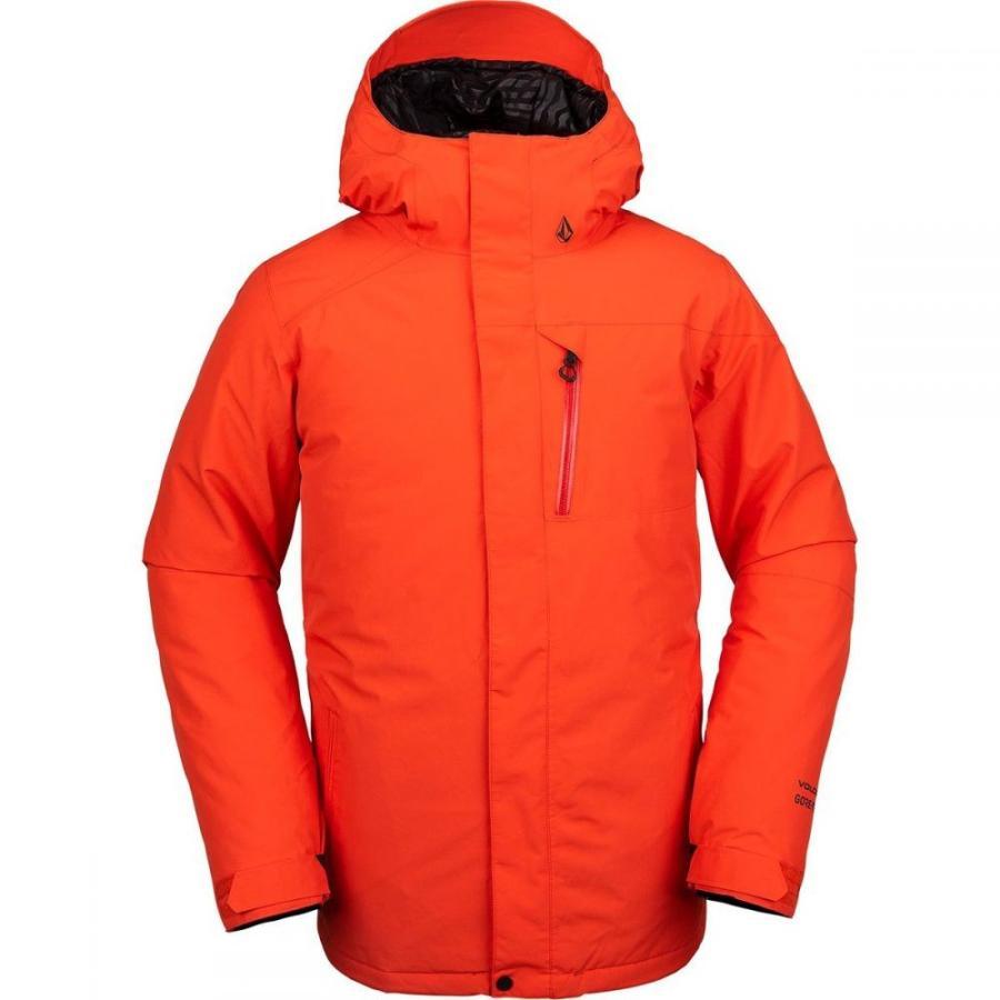 ボルコム Volcom メンズ スキー・スノーボード ジャケット アウター L Gore - Tex Jacket Orange