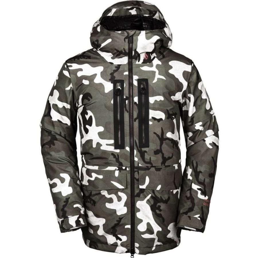 ボルコム Volcom メンズ スキー・スノーボード ジャケット アウター stone gore - tex hooded jacket Gi Camo