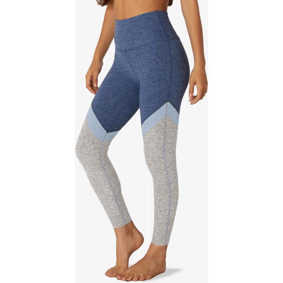【感謝価格】 ビヨンドヨガ Beyond Yoga レディース ランニング・ウォーキング スパッツ・レギンス ボトムス・パンツ Tri-Panel Spacedye High-Waisted Midi Leggings, BLAZONRY a627ae98