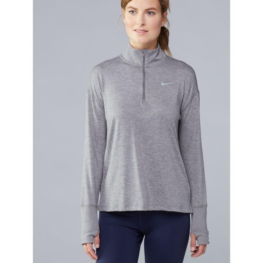 新品同様 ナイキ Nike レディース ランニング・ウォーキング トップス Dry Element Half-Zip Top LIGHT GREY, プラッツティーズ 3a6cbaae
