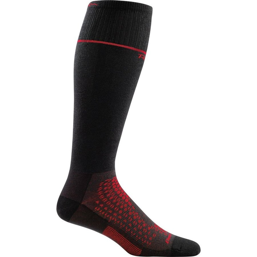 ダーンタフ Darn Tough メンズ スキー・スノーボード Thermolite RFL Over-The-Calf Ultra-Light Socks 黒