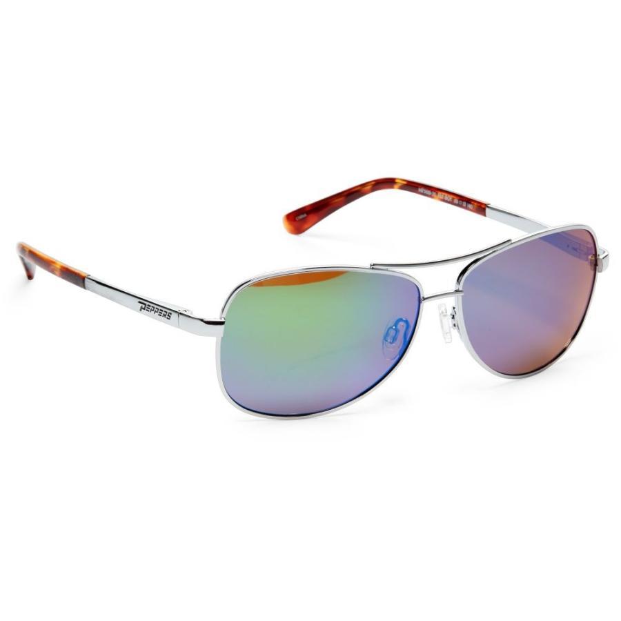 【未使用品】 ペッパーズ ペッパーズ Pepper's ユニセックス ユニセックス スポーツサングラス Fly Boy Polarized Polarized Sunglasses SILVER, ハンモック専門店 遊び(すさび):1a1eed1b --- airmodconsu.dominiotemporario.com