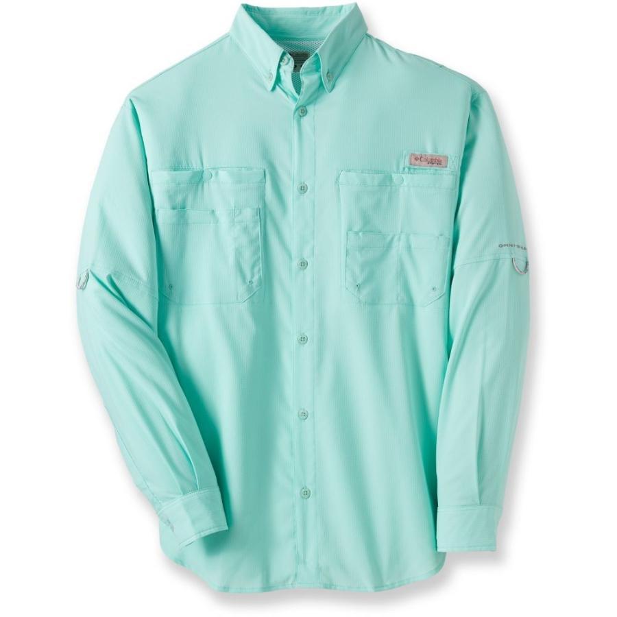 コロンビア Columbia メンズ トップス ハイキング・登山 PFG Tamiami II Long-Sleeve Shirt GULF STREAM