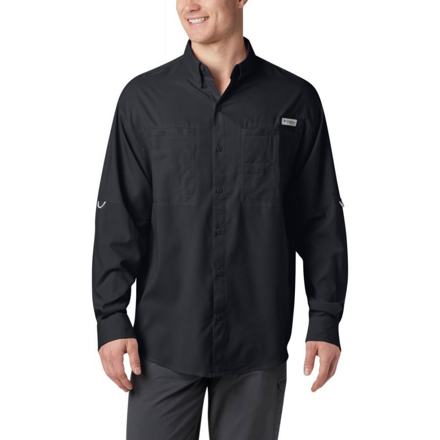 コロンビア Columbia メンズ トップス ハイキング・登山 PFG Tamiami II Long-Sleeve Shirt BLACK