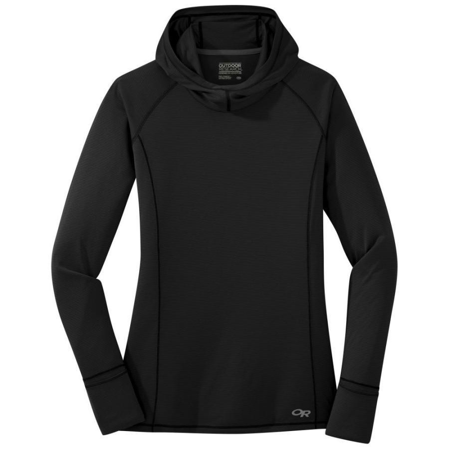 品質満点! アウトドアリサーチ OUTDOOR RESEARCH レディース フィットネス・トレーニング Tシャツ トップス Long-Sleeve Echo Tee BLACK, リシリグン ef64c937