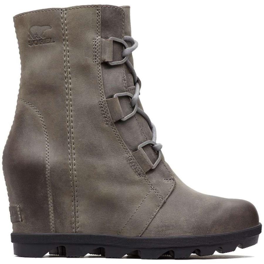 ソレル SOREL レディース ブーツ ウェッジソール シューズ・靴 joan of arctic wedge ii waterproof boots QUARRY