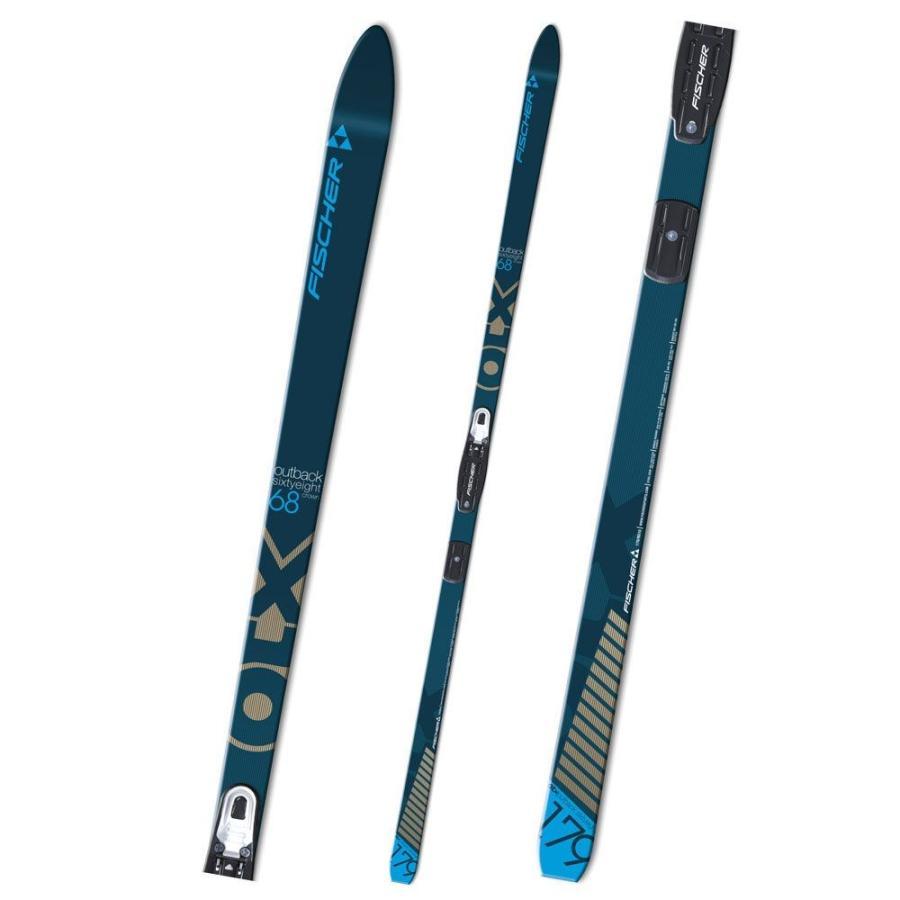 フィッシャー FISCHER ユニセックス スキー・スノーボード ボード・板 outback 68 skis NONE