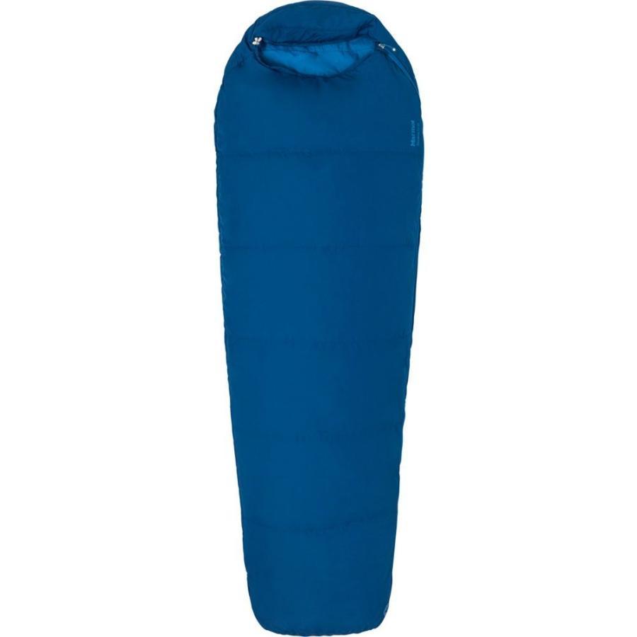 マーモット MARMOT ユニセックス ハイキング・登山 nanowave 50 semi rec sleeping bag, regular ESTATE 青