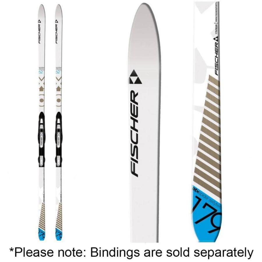 フィッシャー FISCHER ユニセックス スキー・スノーボード ボード・板 spider 62 skis 白い/褐色