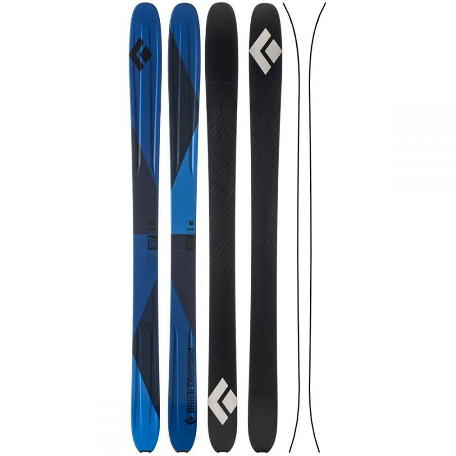 ブラックダイヤモンド 黒 DIAMOND ユニセックス スキー・スノーボード ボード・板 boundary 107 skis 青