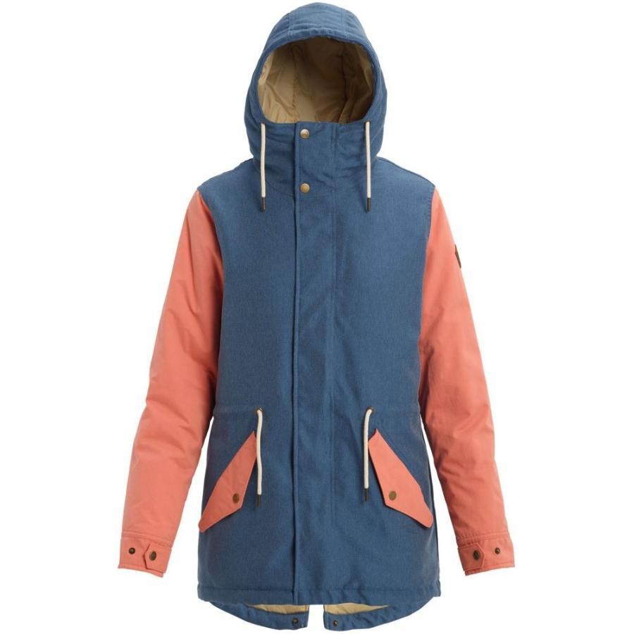 爆売り! バートン Burton レディース スキー・スノーボード ジャケット アウター Sadie Insulated Snowboard Jacket 2020 Light Denim/Crabapple, エルグスト 0ac2bb9b