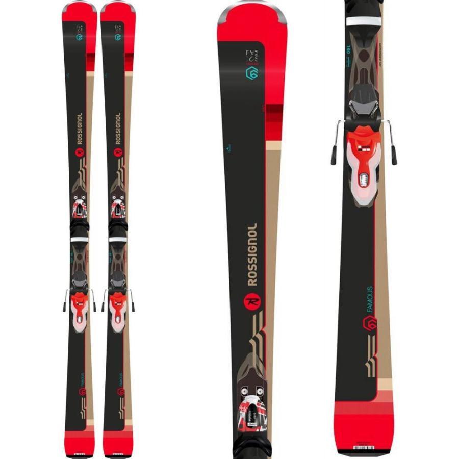 ロシニョール Rossignol レディース ボード・板 スキー・スノーボード Famous 6 Skis w/ Xpress 11 Bindings
