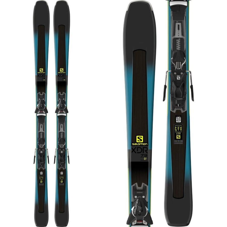 サロモン Salomon メンズ ボード・板 スキー・スノーボード XDR 79 CF Skis w/ Z11 Walk Bindings 2019 Dark 緑/黒
