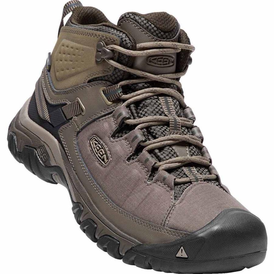 キーン Keen メンズ シューズ・靴 ハイキング・登山 Targhee Exp Mid WP Hiking Boots Bungee Cord/Brindle