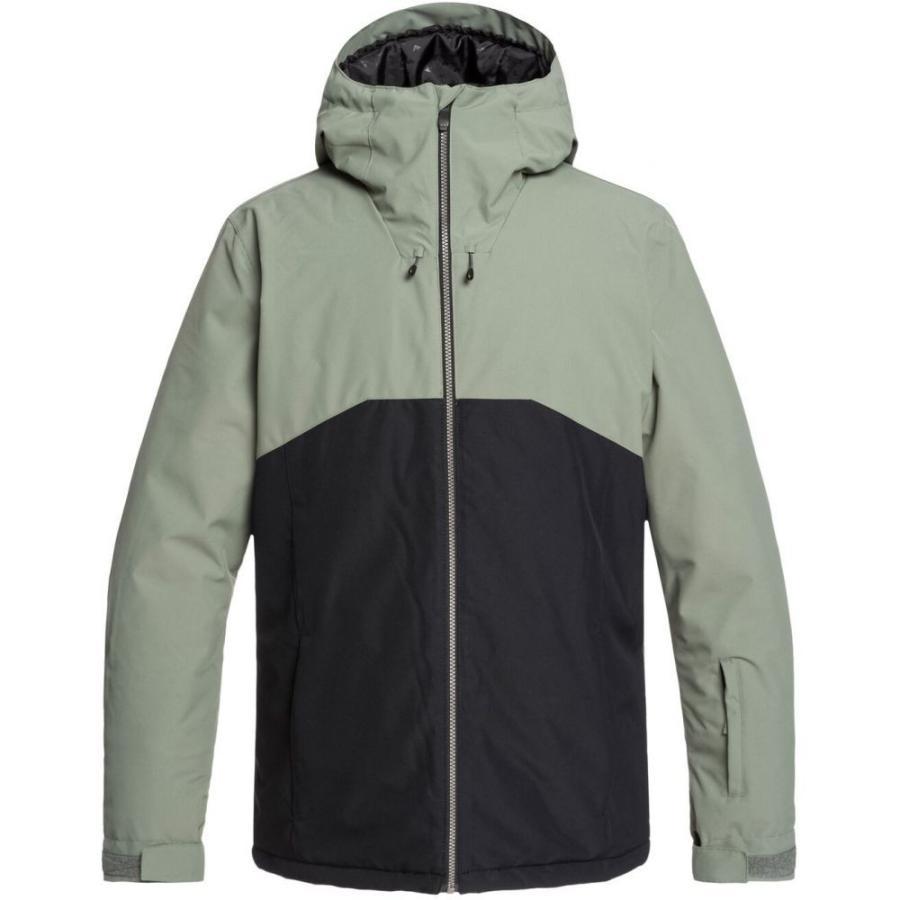 クイックシルバー Quik銀 メンズ スキー・スノーボード ジャケット アウター Sierra Snowboard Jacket 2020 Agave 緑