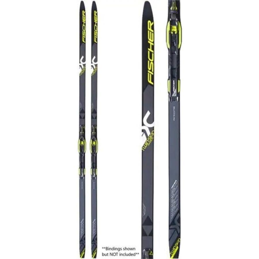 フィッシャー Fischer メンズ ボード・板 スキー・スノーボード Twin Skin Superlite EF XC Skis 2019 黒/黄