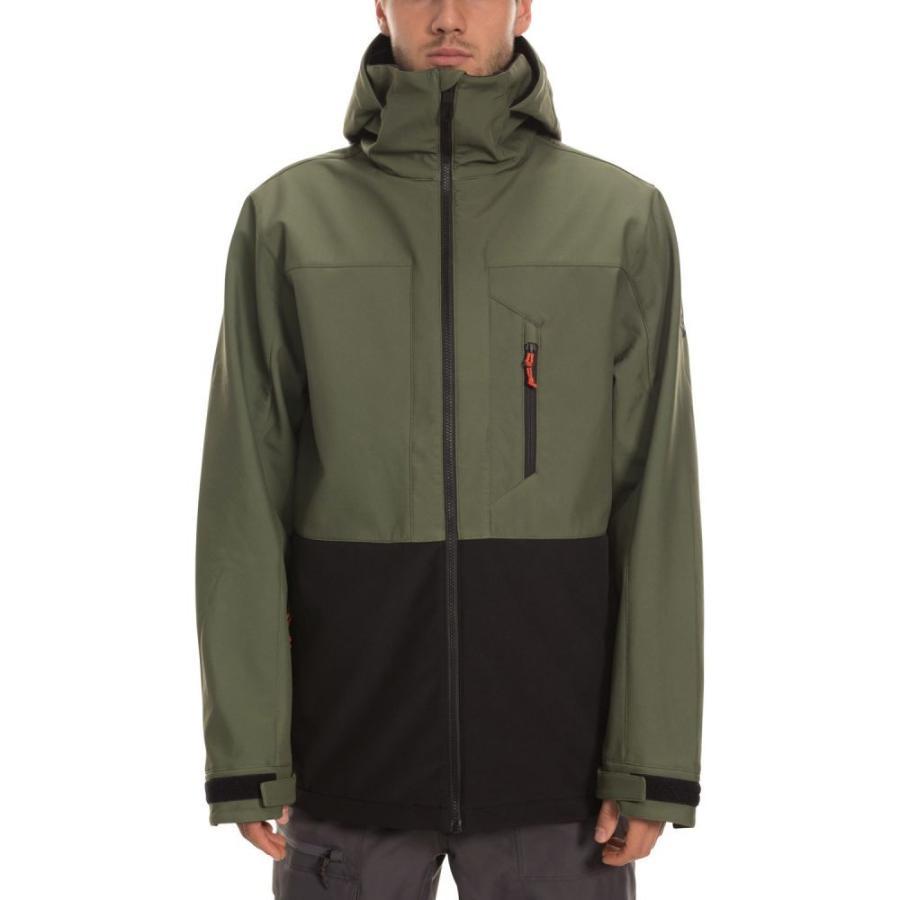 シックス エイト シックス 686 メンズ スキー・スノーボード ジャケット アウター Smarty 3-in-1 Phase Snowboard Jacket 2020 Surplus 緑 Colorblock