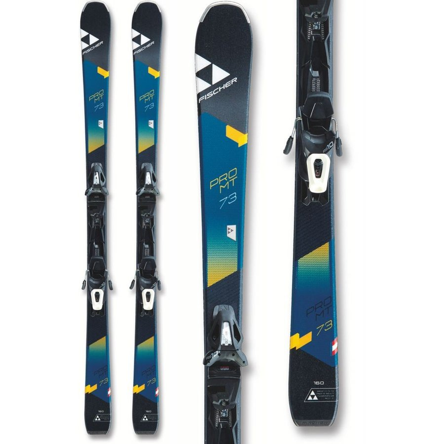 フィッシャー Fischer メンズ ビンディング スキー・スノーボード Pro MTN 73 Skis w/ RS10 GW Powerrail Bindings