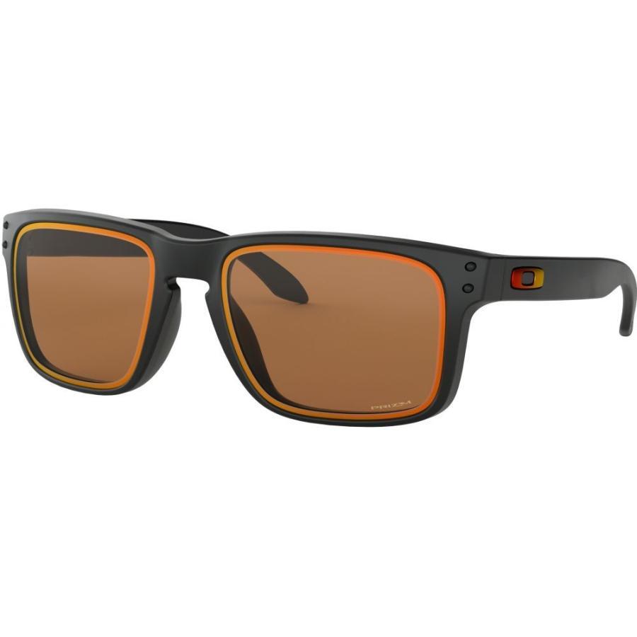 高い品質 オークリー Oakley メンズ メンズ メガネ・サングラス Holbrook Fire and Black/PRIZM and Ice Collection Sunglasses Matte Black/PRIZM Bronze Iridium Lens, クガグン:6b77974f --- sonpurmela.online
