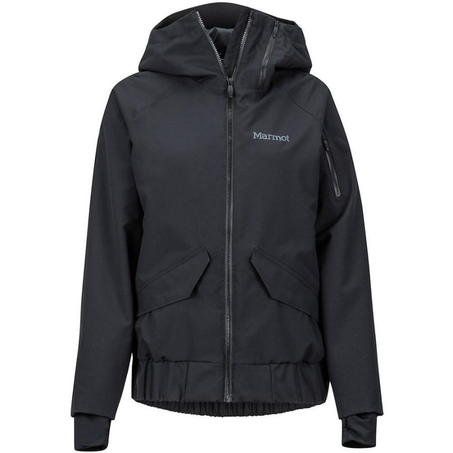 マーモット Marmot レディース スキー・スノーボード ジャケット アウター Queenstown Ski Jacket 黒