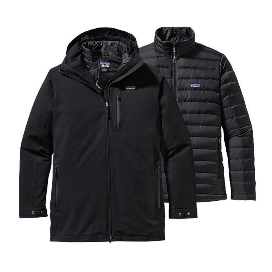 パタゴニア Patagonia メンズ アウター スキー・スノーボード Tres 3 In 1 Parka Ski Jacket Black