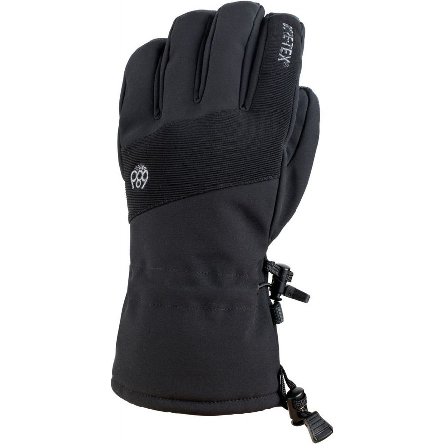 シックス エイト シックス 686 メンズ スキー・スノーボード グローブ Linear Gore-Tex Gloves 黒