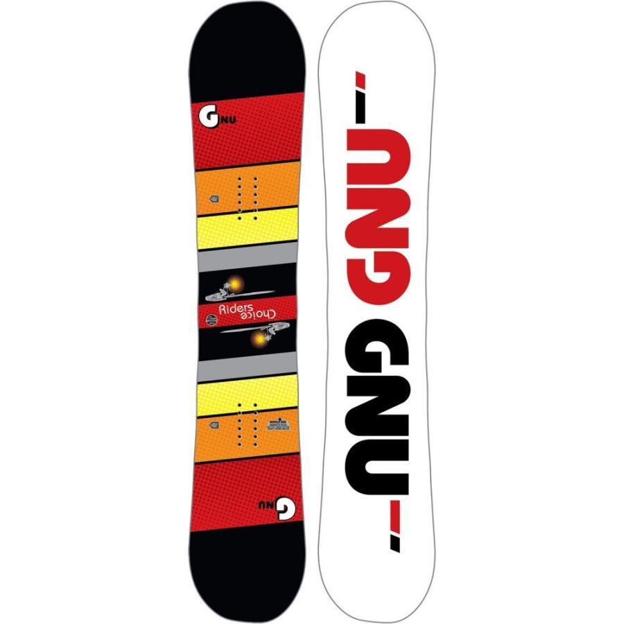 グヌ GNU メンズ ボード・板 スキー・スノーボード Riders Choice Asym Wide Snowboard